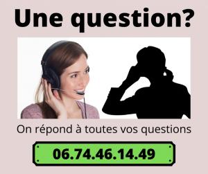 numéro de téléphone de contact
