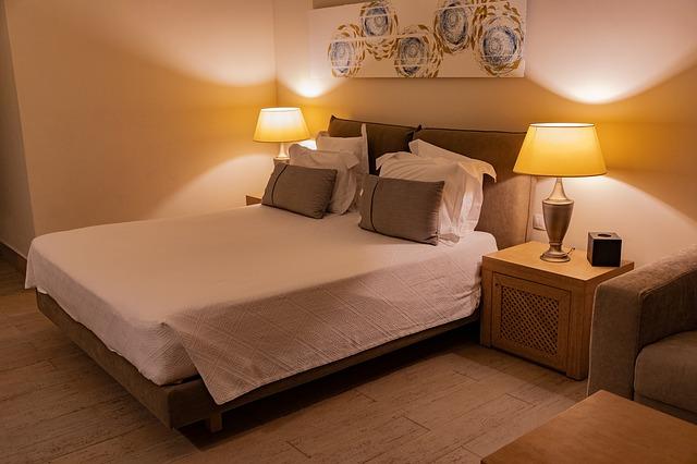 chambre sobre idéale pour dormir