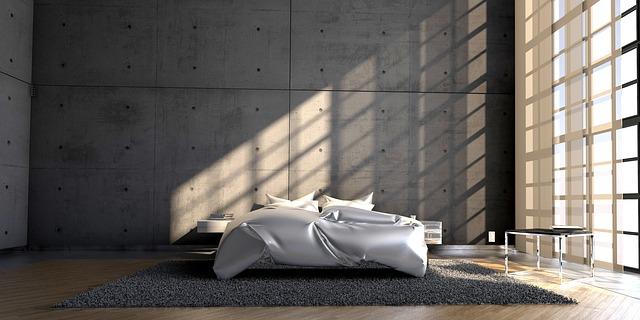 chambre moderne idéale pour dormir