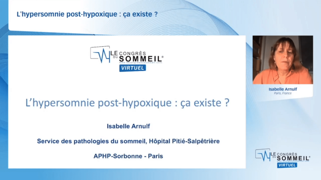 L'hypersomnie post-hypoxique  ça existe