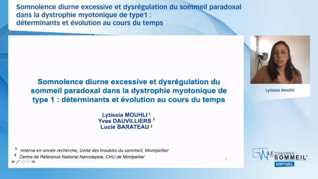 Somnolence diurne excessive et dysrégulation du sommeil paradoxal dans la dystrophie myotonique de type1  déterminants et évolution au cours du temps