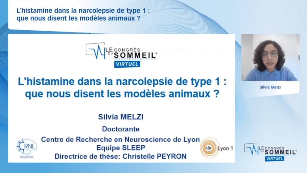 L'histamine dans la narcolepsie de type 1  que nous disent les modèles animaux