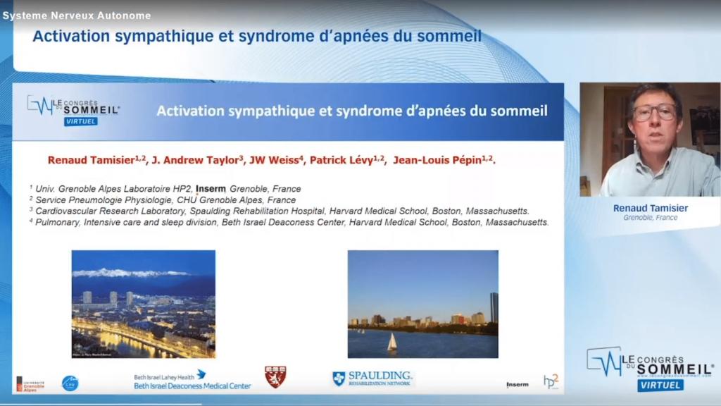 Activation sympathique et syndrome d'apnées du sommeil