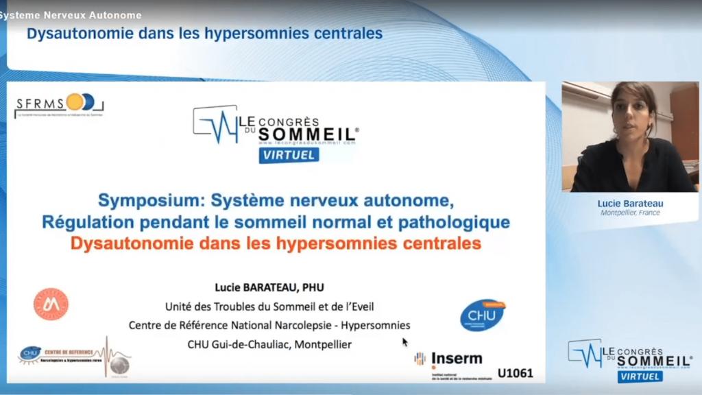Dysautonomie dans les hypersomnies centrales