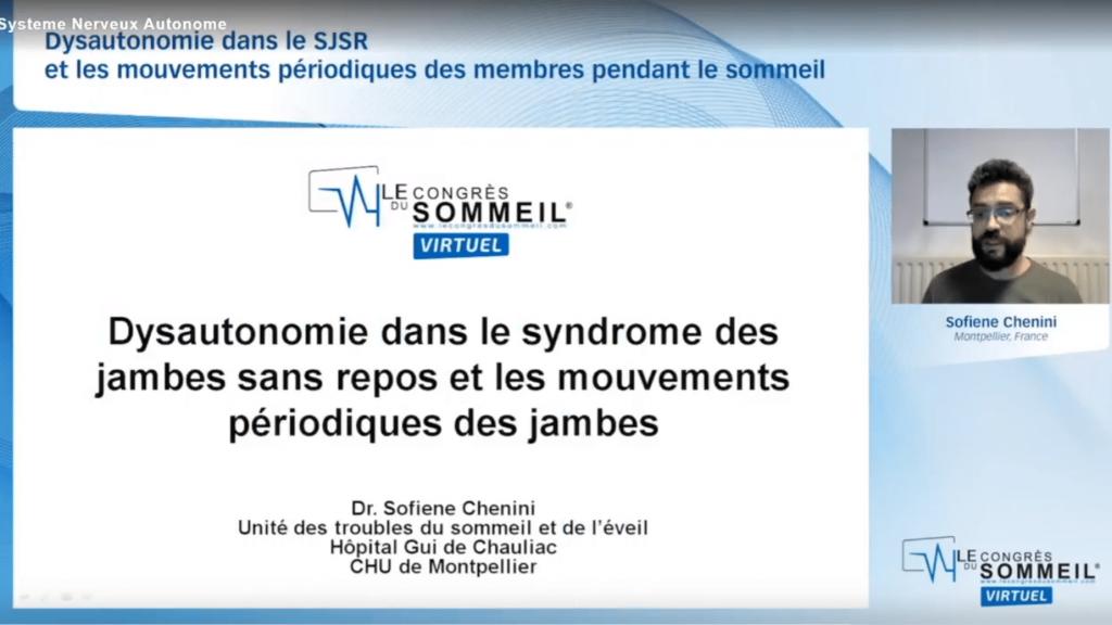 Dysautonomie dans le syndrome des jambes sans repos et les mouvements périodiques des membres pendant le sommeil